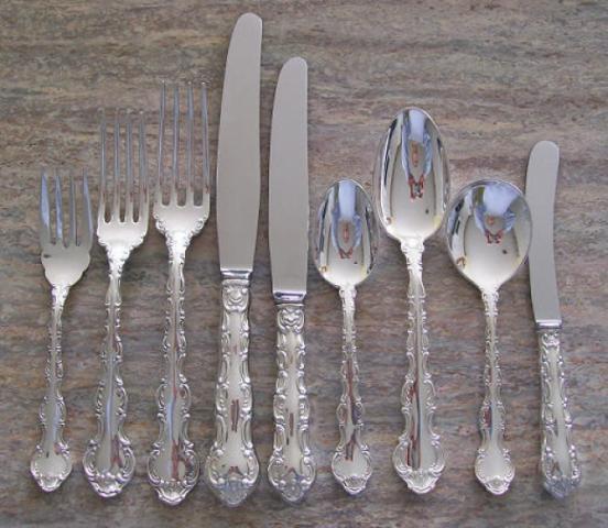 Silverplate Patterns Louis De France By Birks Regency